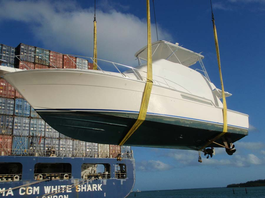 Yacht Trasportation and Logistics Miami, Florida, VM Yacht Sales